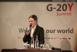 Paris hosted G-20Y Summit for the G-20 business and finance leaders